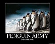 army motivational penguin rifle // 750x600 // 99.2KB