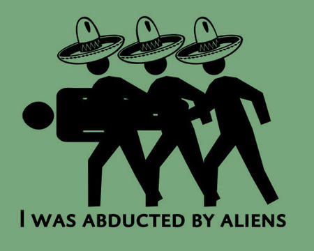 abduction aliens humor macro sombrero // 500x400 // 42.4KB