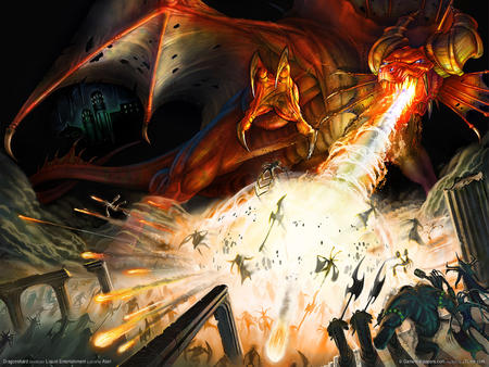 dragon fire high_res horns wings // 1600x1200 // 577.9KB