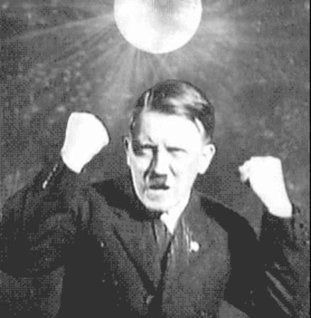 animated bw dance germany hitler nazi political wwii // 278x285 // 183.8KB