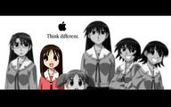 apple azumanga chiyo glasses group kagura osaka sakaki tomo yomi // 1440x900 // 662.8KB