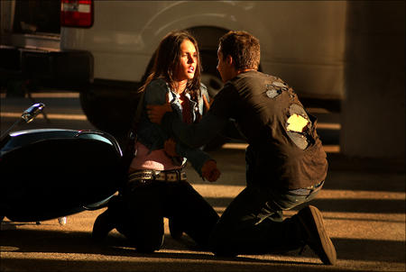 brunette high_res jacket jeans megan_fox photo transformers // 3000x2012 // 1.4MB