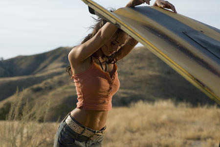 brunette high_res jeans megan_fox photo tank_top transformers // 3000x2000 // 779.3KB