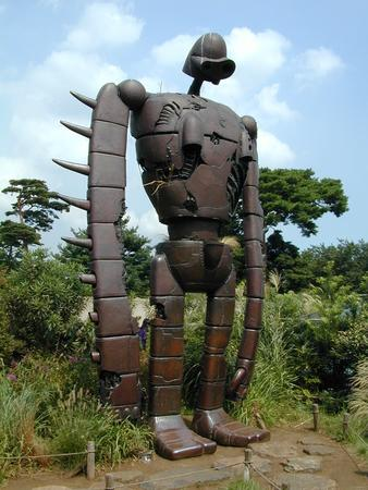 ghibli high_res laputa museum photo robot statue // 960x1280 // 273.5KB
