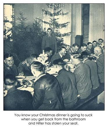 bw christmas germany hitler humor nazi photo // 445x540 // 67.2KB