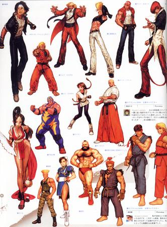 artbook boots capcom chun-li composite gi guile high_res ken king_of_fighters mai_shiranui ryu street_fighter zangief // 2000x2713 // 819.2KB