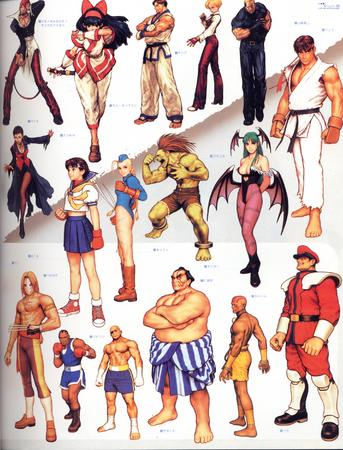 artbook balrog bison blanka cammy capcom composite dhalsim e_honda high_res king_of_fighters ryu sagat sakura samurai_spirit street_fighter vega // 2000x2626 // 815.5KB