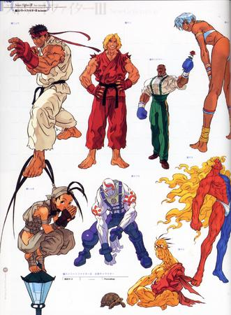 artbook capcom composite gi gloves high_res ibuki ken ryu street_fighter // 2000x2719 // 800.3KB