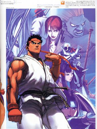 artbook capcom high_res street_fighter // 2000x2666 // 970.4KB