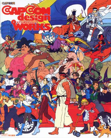artbook capcom cover dark_stalkers group high_res street_fighter // 2000x2485 // 1.1MB