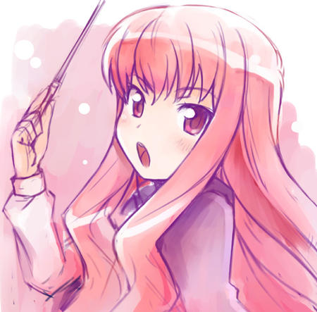 long_hair louise pink_hair wand zero_no_tsukaima // 500x492 // 101.8KB
