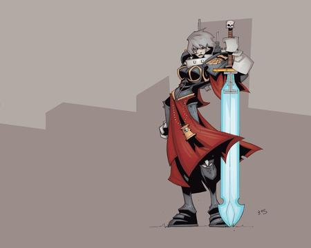 adeptus_sororitas desktop gauntlet gray_hair sisters_of_battle sword warhammer wh40k // 1280x1024 // 64.8KB