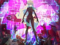 blonde gurren_lagann jumpsuit long_hair nia // 1024x768 // 351.7KB