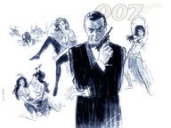 007 bowtie composite gun james_bond monochrome scetch sean_connery tuxedo // 1024x768 // 184.1KB