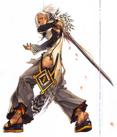 gray_hair high_res sandals sword // 2615x3077 // 892.3KB