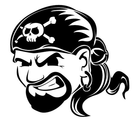bw goatee pirate // 457x408 // 25.1KB
