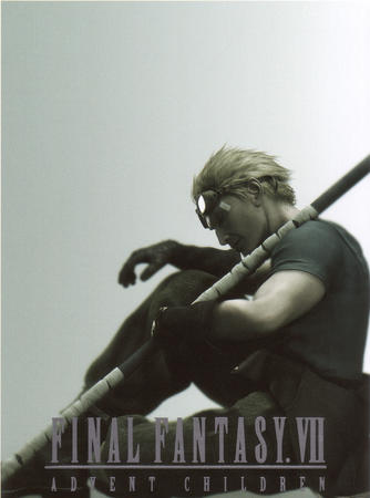 advent_children blonde cg cid ffvii final_fantasy gloves goggles high_res short_hair spear tee-shirt // 1024x1379 // 1.9MB