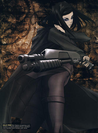 brunette ergo_proxy high_res lil shotgun // 1664x2250 // 2.5MB