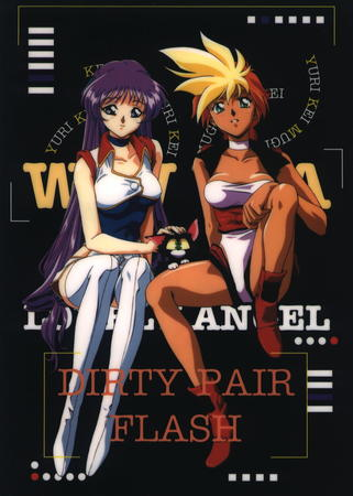 dirty_pair_flash kei thighhighs yuri // 967x1354 // 187.2KB