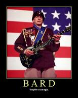 america bard dnd flag george_c_scott guitar helmet motivational patton // 600x750 // 70.8KB