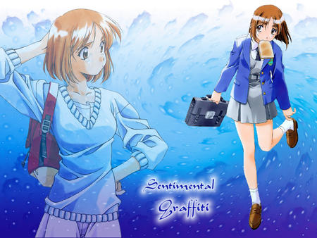 brunette dress jacket school_uniform sentimental_graffiti sweater toast // 800x600 // 194.0KB