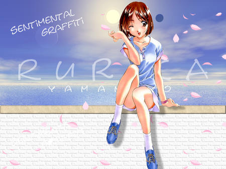 beach brown_eyes brunette sentimental_graffiti skirt wink // 800x600 // 188.6KB