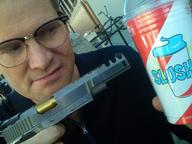 glasses gun heroes mr_bennett slushie // 1600x1200 // 335.8KB