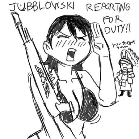 bikini brunette bw cleavage imperial_guard jubblowski rifle sketch warhammer wh40k // 500x500 // 65.1KB