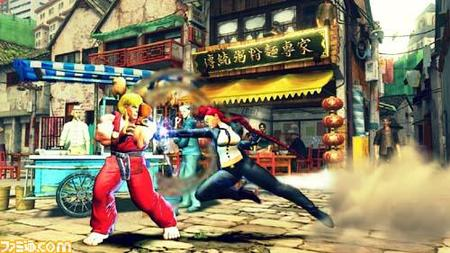 blonde braids gi ken kurumi long_hair redhead screenshot street_fighter // 500x281 // 40.7KB