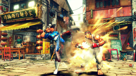 boots chun-li fry gi gloves headband ryu screenshot street_fighter // 1280x720 // 1.4MB