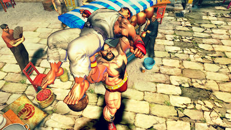 beard boots gi gloves ryu screenshot street_fighter zangief // 1280x720 // 1.5MB
