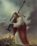 blasphemous jesus rifle robe // 374x462 // 28.7KB
