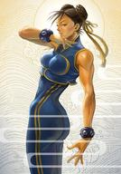 braids brunette chun-li jumpsuit ribbons street_fighter // 800x1147 // 329.9KB