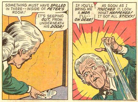 aunt_may comic gray_hair humor marvel spider-man // 608x451 // 98.4KB