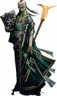 fire paizo pathfinder robe staff wizard // 320x539 // 25.6KB