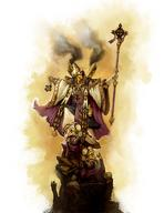 dnd ik mask protectorate_of_menoth robes severius staff warcaster // 638x825 // 228.9KB