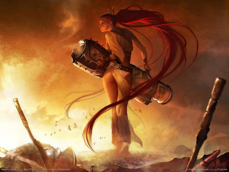 cannon heavenly_sword long_hair ponytail redhead // 1600x1200 // 374.1KB
