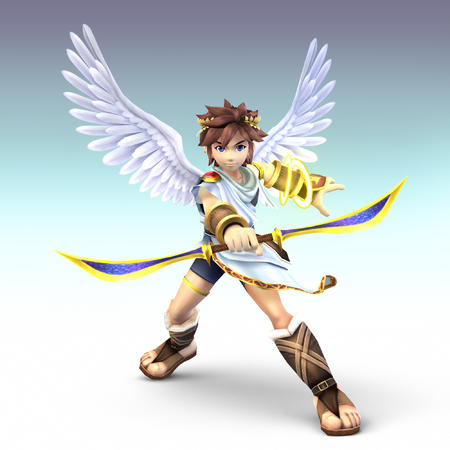 blue_eyes brunete cg high_res icarus nintendo sandals sword toga wings // 2000x2000 // 1.2MB