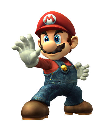 blue_eyes cg gloves hat high_res mario mustache nintendo overalls // 1600x1900 // 734.5KB
