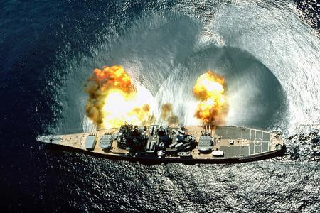 america cannon high_res navy photo ship // 3000x1998 // 2.0MB