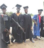 gown graduation group rifle // 472x515 // 57.1KB