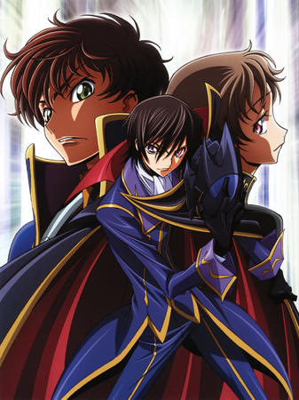 brunette cape code_geass composite gloves green_eyes helmet high_res lelouche rolo suzazu zero // 2358x3147 // 1.1MB