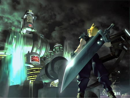 blonde cg cloud desktop ffvii final_fantasy sword // 1024x768 // 103.5KB