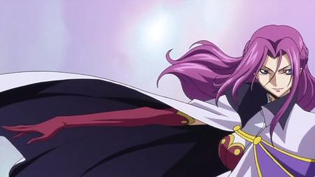cape code_geass cornelia gloves purple_hair screenshot // 1280x720 // 81.8KB