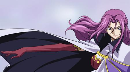 britannia cape code_geass cornelia gloves high_res long_hair purple_hair vector // 2000x1107 // 1.1MB