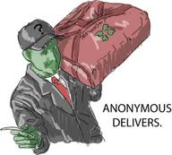 4chan anonymous delivers hat pizza // 250x225 // 38.5KB