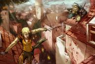 beard blonde city crossbow dnd dwarf paizo pathfinder short_hair // 1680x1133 // 182.2KB