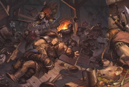 bar battle brawl dnd high_res paizo pathfinder // 1680x1129 // 158.8KB