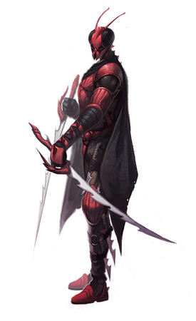 armor cape gloves mantis mask paizo pathfinder sword // 489x800 // 65.2KB