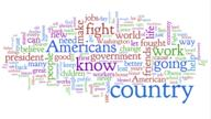 america mccain political republican speech wordle // 834x469 // 53.1KB